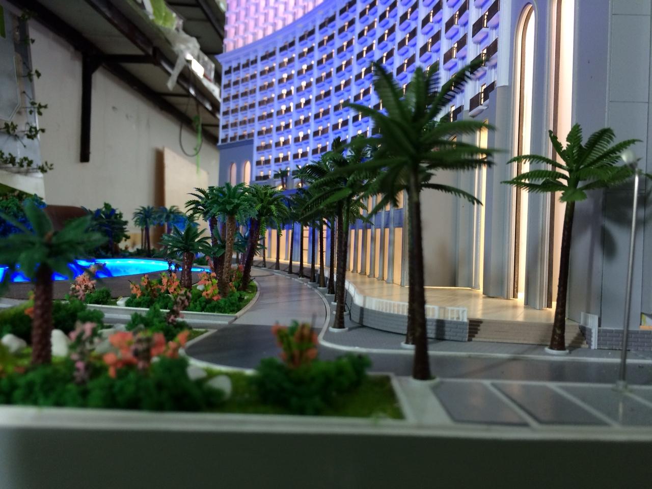 Led trang trí tòa nhà - Khu đô thị - Kiến trúc sân vườn cảnh quan