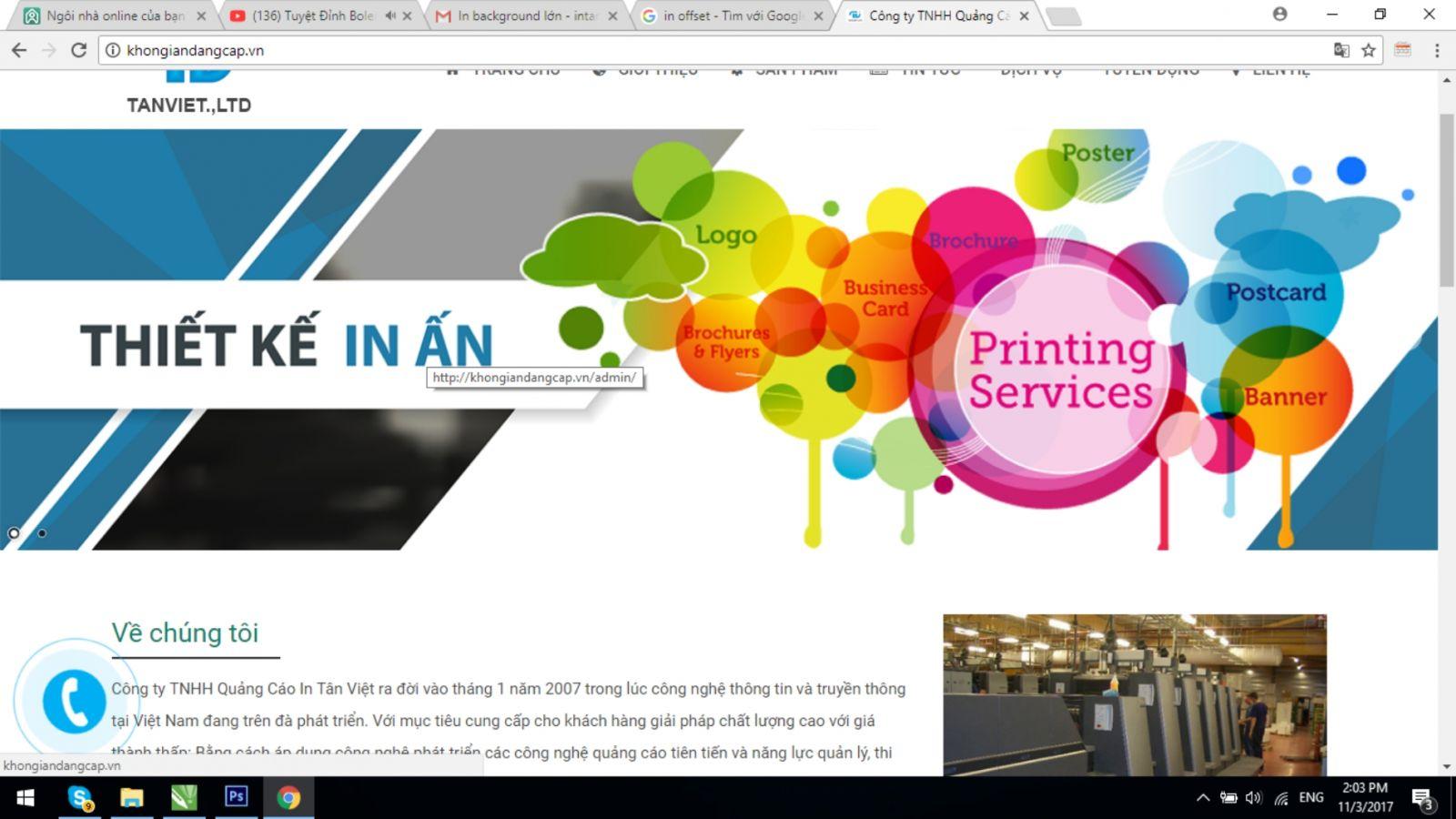 Giới thiệu về việc làm biển quảng cáo của công ty Tân Việt