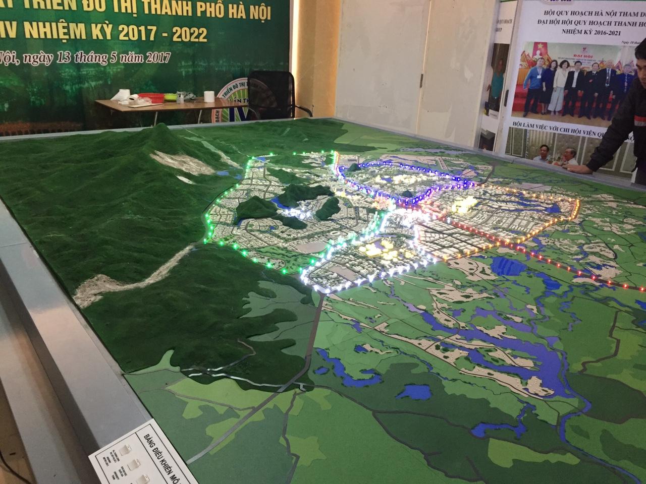 Mô hình quy hoạch đô thị
