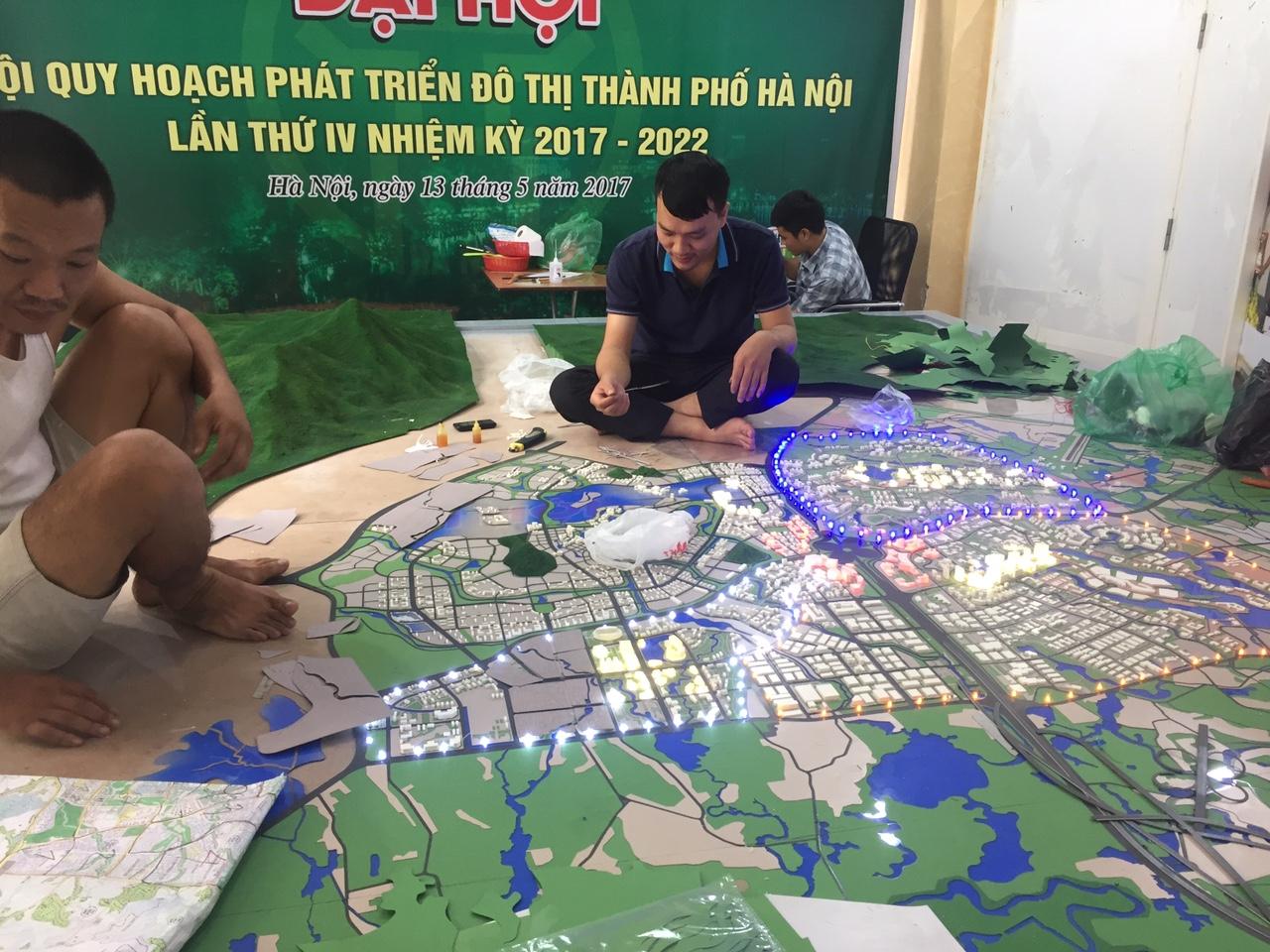 Sản xuất Thi công các loại Mô Hình tại Hà Nội